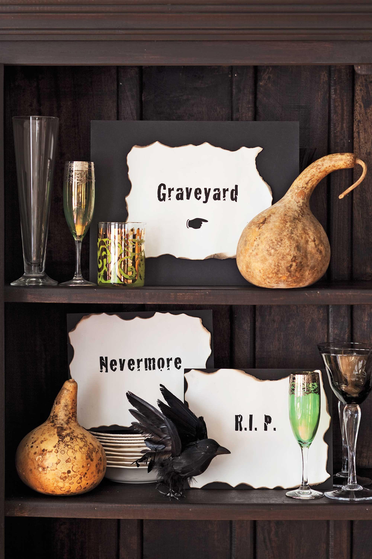 50 Easy DIY Halloween Decorations That'll Transform Your