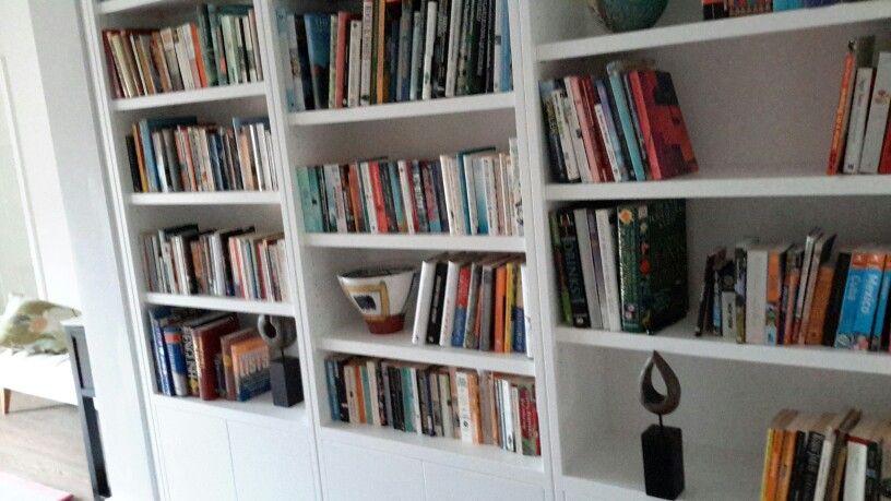 Sleek bookcase