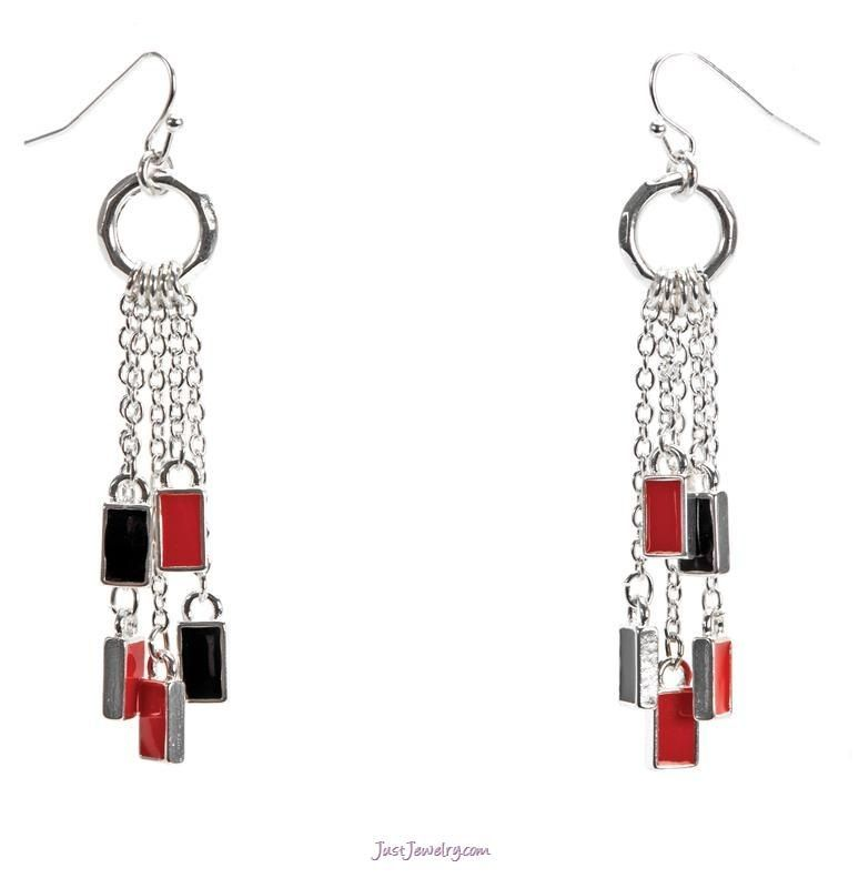 Cherry Picked Earrings $16 (E-010012 - The Finishing Touch) pg. 40