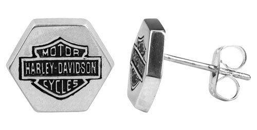 Harley Davidson® single Bolt pattern earring STUD Men's style HDE0234 by MOD®: http://www.amazon.com/Harley-Davidson®-pattern-earring-HDE0234/dp/B006GXNP1G/?tag=greavidesto05-20