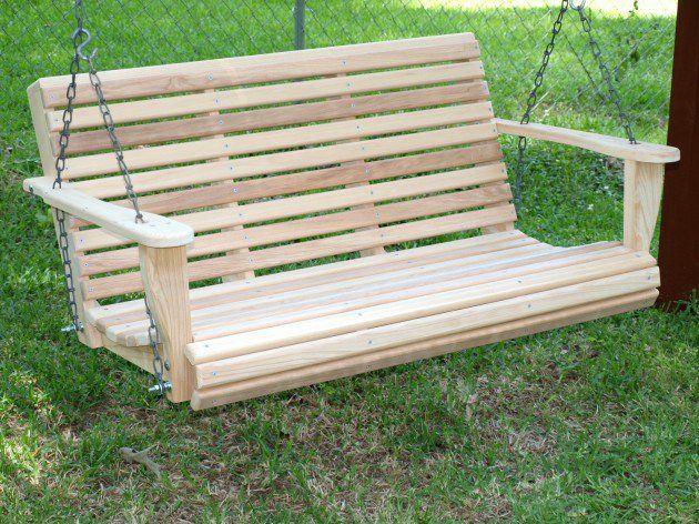 17 Outstanding Handmade Porch Swing Designs Garden Swing