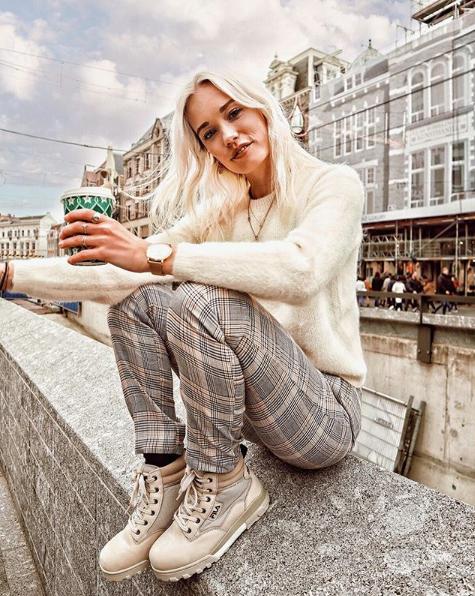 4e68f0a96fb Wiep Boers | Omoda | @wiepboers | Influencer | Shoes | Fila | Boots