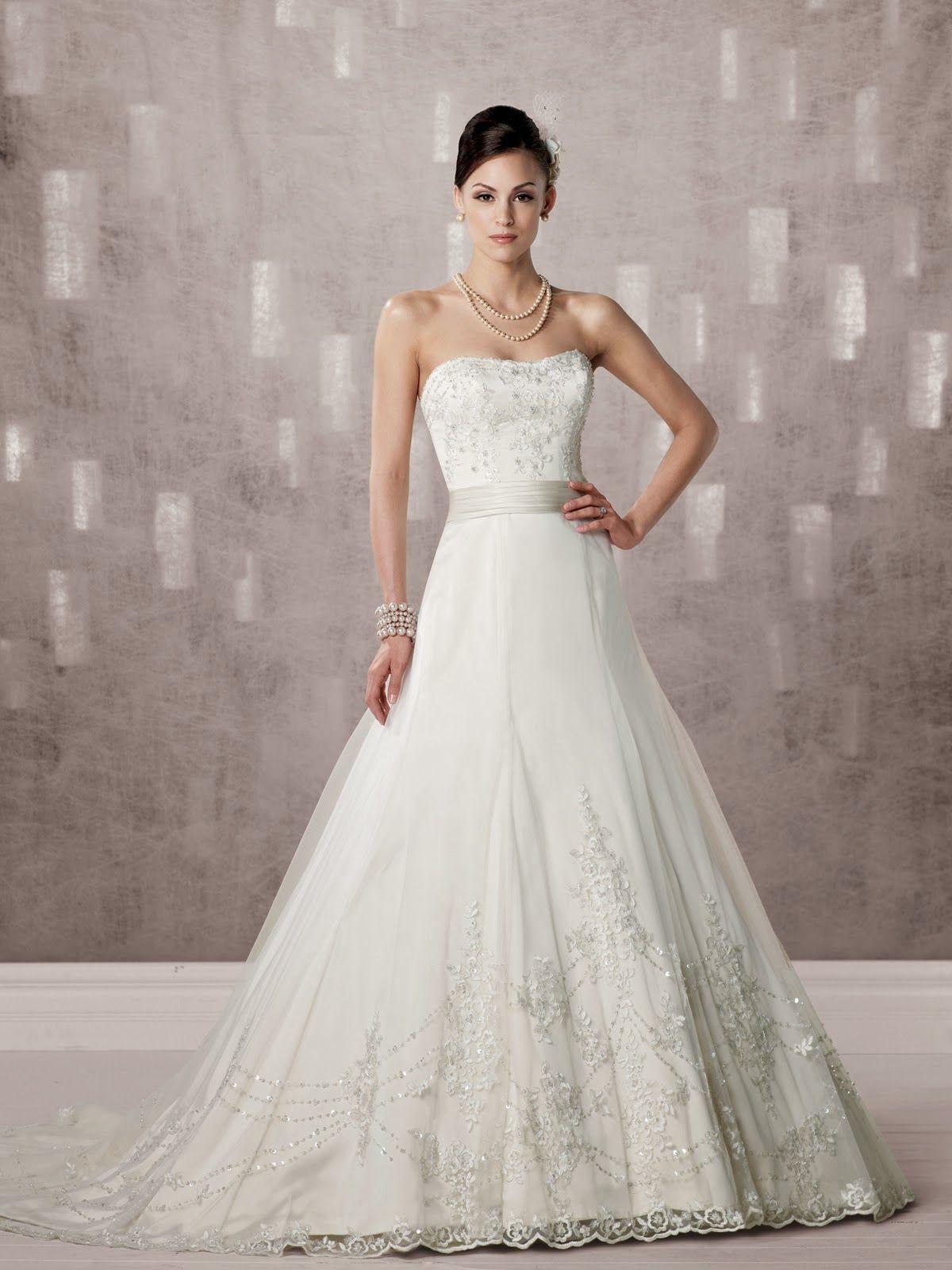 Modernos y sencillos vestidos de novia para el 2014 | Bodas ...