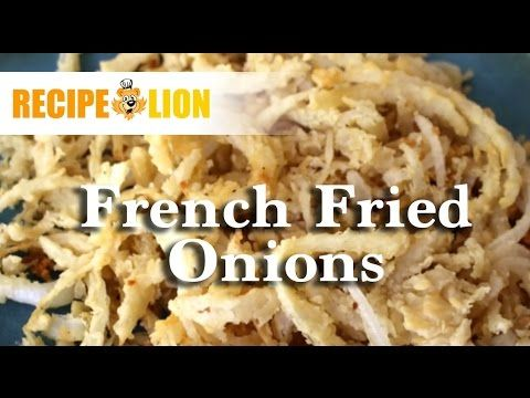 Homemade French Fried Onions