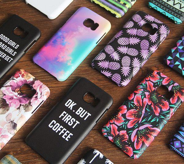 Watercolor Pink Samsung Galaxy S7 Edge S7 Case Galaxy S6 Edge S5 S4 S3 Samsung Note 5 4 3 2 Cover Samsung Phone Cases Phone Case Accessories Cute Phone Cases