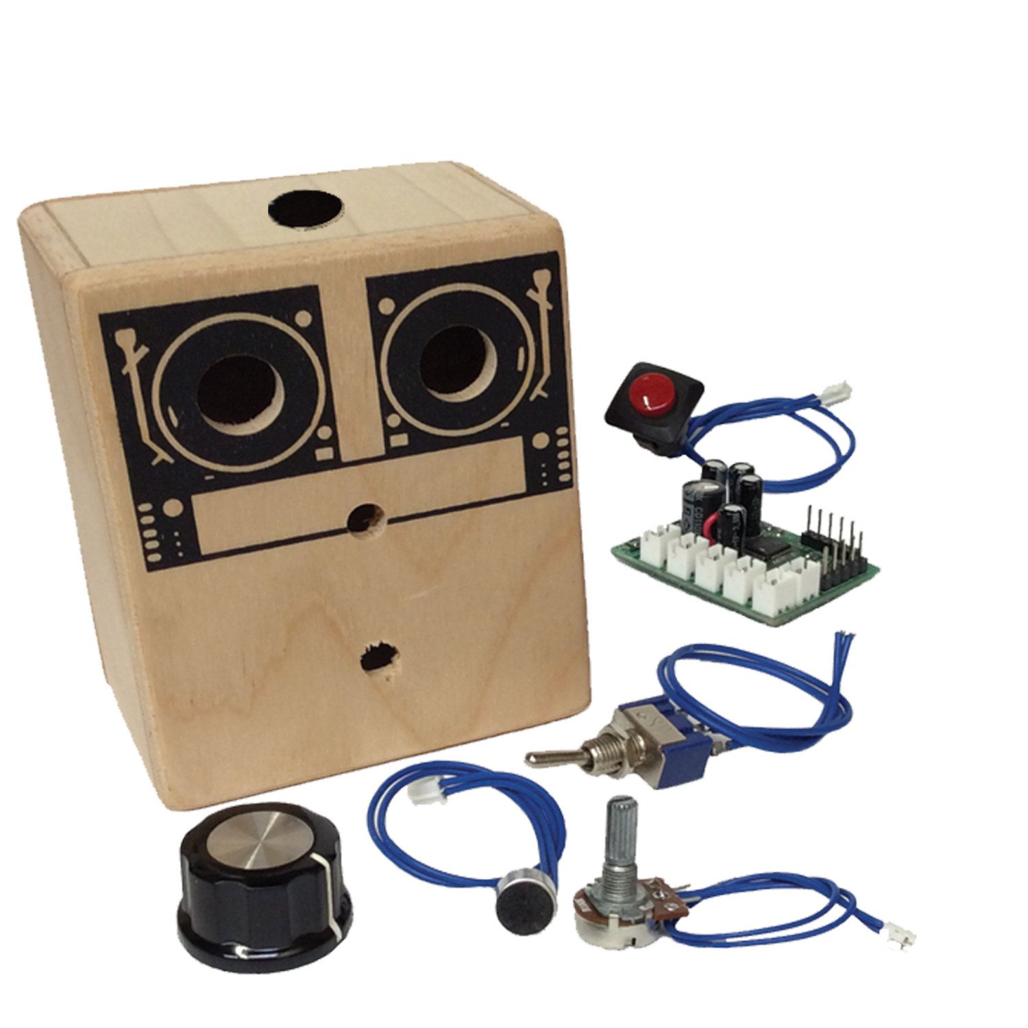 DIY (kit) - build your own recording device with loop switch pitch control & output