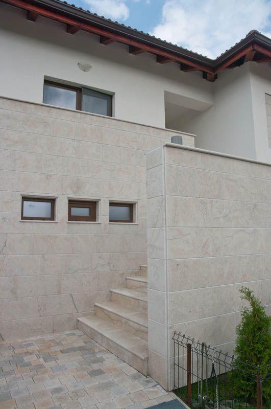 Grey Limestone Exterior Wall Cladding Tiles 945 Modern Details