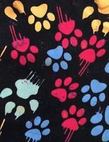 24a6bb8df361f0 LuLaRoe TC Tall & Curvy Paw Prints Animal Lover Dogs Cats Paws HTF MAJOR  UNICORN