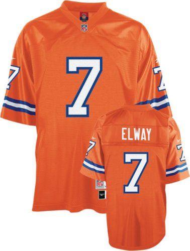 100% authentic b860a 90268 Amazon.com: Reebok Denver Broncos John Elway Premier ...
