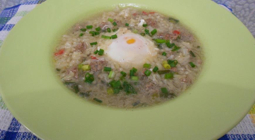 Рецепт рисовый суп с курицей