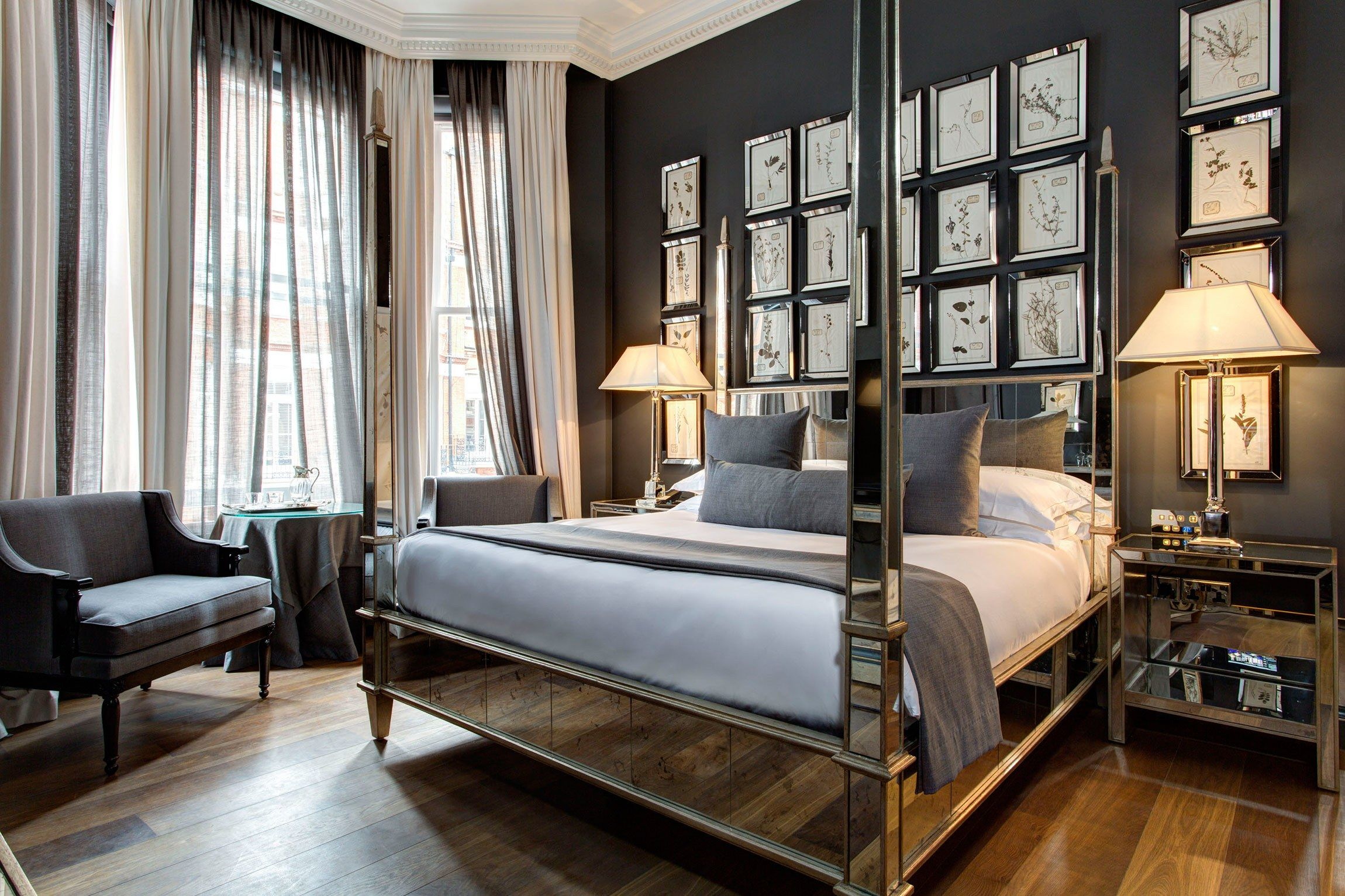Get a first look at londons newest luxury hotel the franklin architectural digest