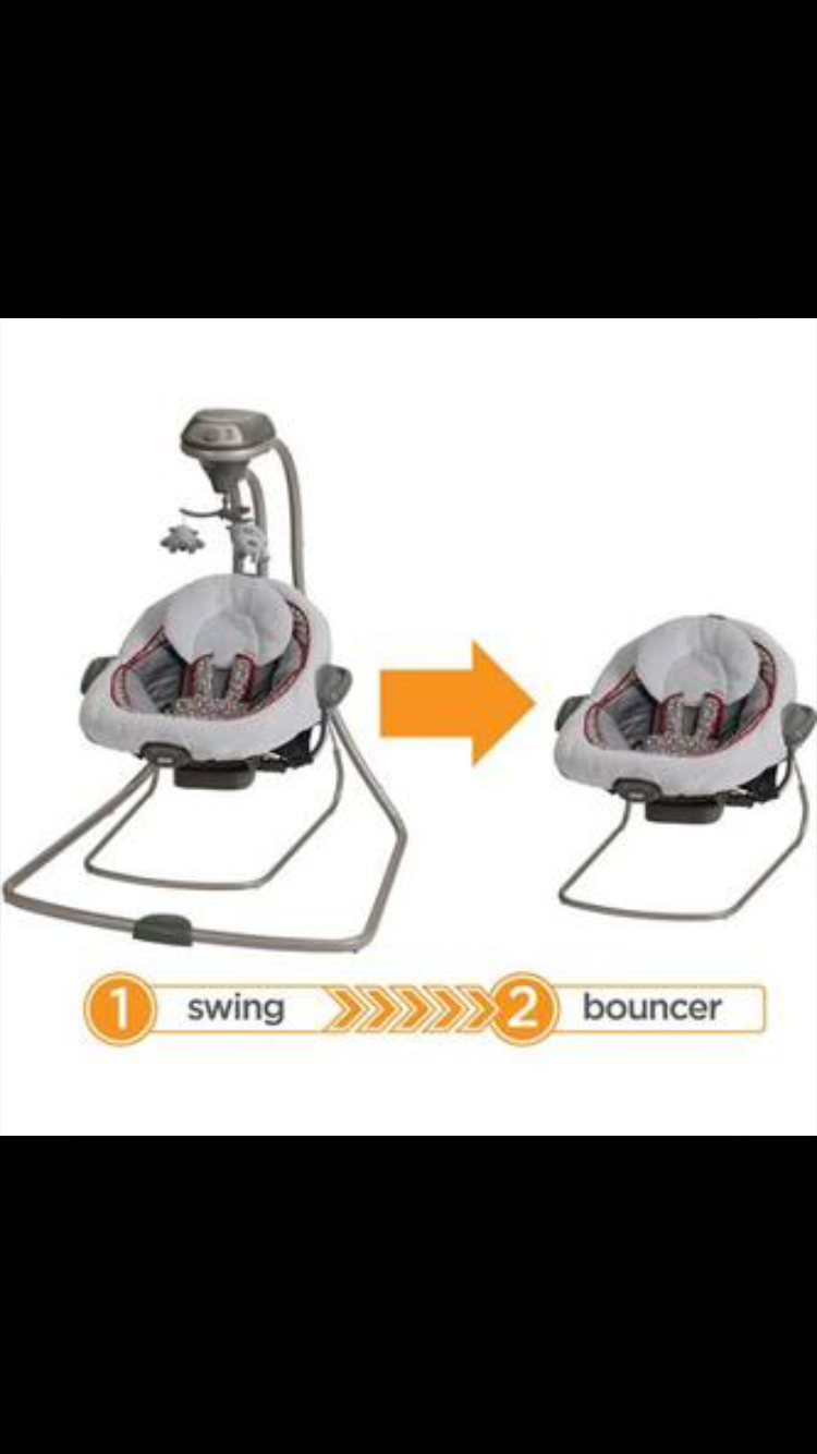 Pin by Toadally Nails on Baby Baby swings, Graco