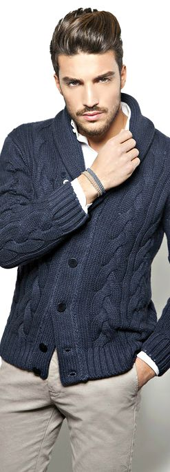 How to wear a Cardigan The Idle Man 6