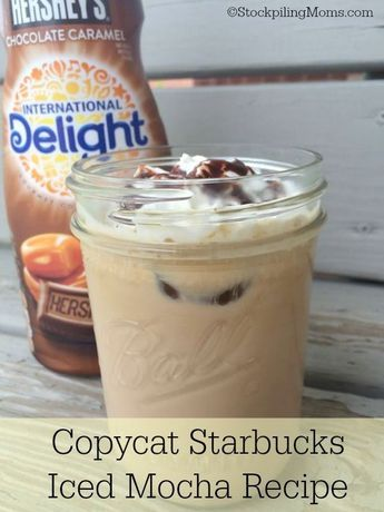 Copycat Starbucks Iced Mocha Recipe