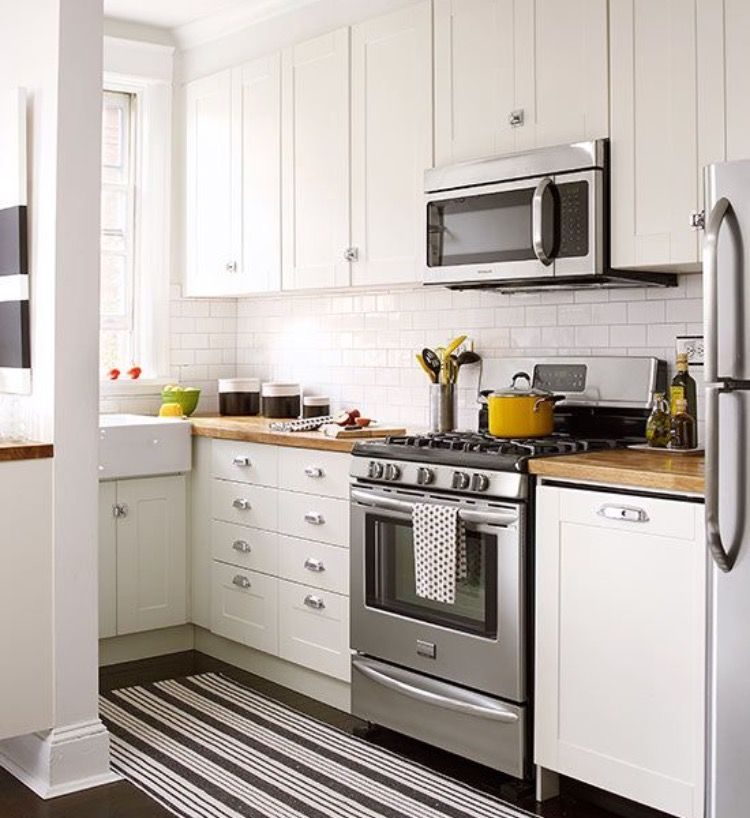 51 Small Kitchen Design Ideas That Make The Most Of A Tiny: Idea By Victoria Gonzales On Kitchens