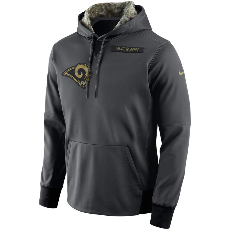 buy online 2b077 f4bcb Los Angeles Rams Nike Salute to Service Player Performance ...