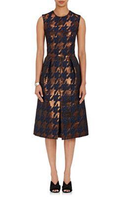 Martin Grant Inverted-Pleat Sheath Dress at Barneys New York