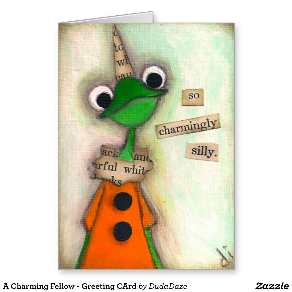 A Charming Fellow - Greeting CArd