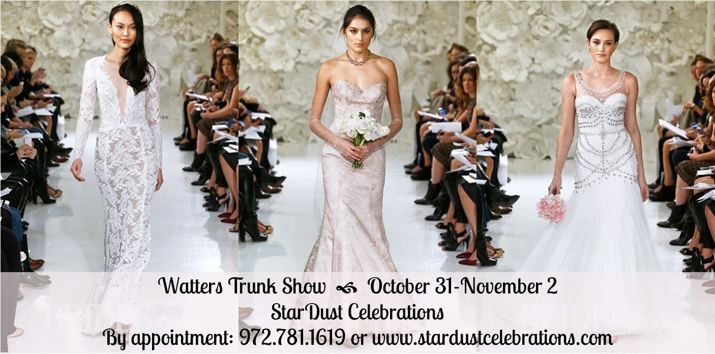 Shop Watters' Newest Bridal Gown Collection This Weekend