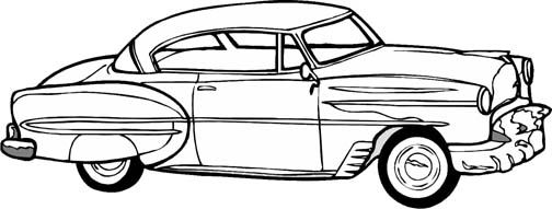 coloring pages antique cars | Pin by Ann Smets on !My coloring pages | Cars coloring ...
