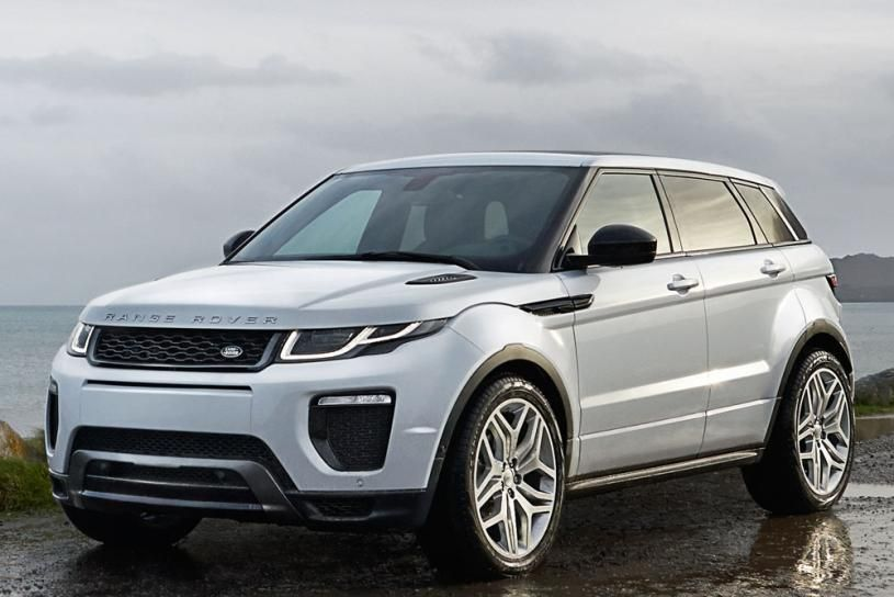 The Range Rover Evoque offers a compact footprint and