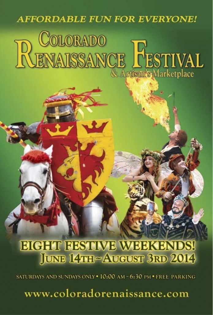 Grab Your Coupon To The Colorado Renaissance Festival Free