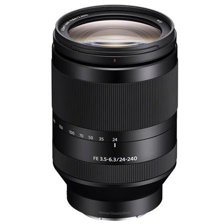 Sony Fe 24 240mm F3 5 6 3 Oss Zoom Lens Telephoto Zoom Lens E Mount