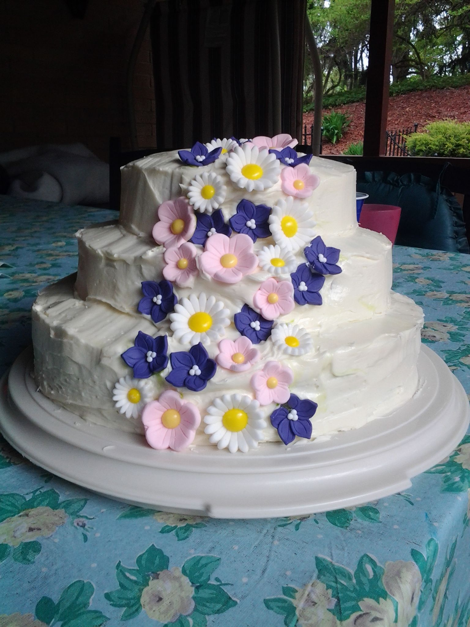 First Tier cake