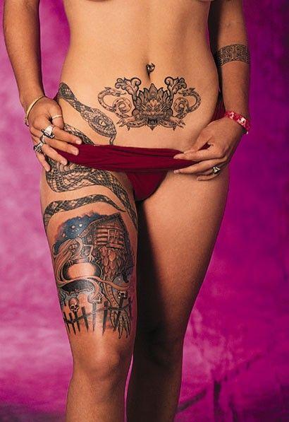 Tattoos For Women Top 10 Tattoo Designs Wrap Around Tattoo