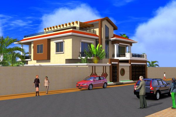 Projet De Construction D Une Villa A Ouagadougou Burkinafaso En