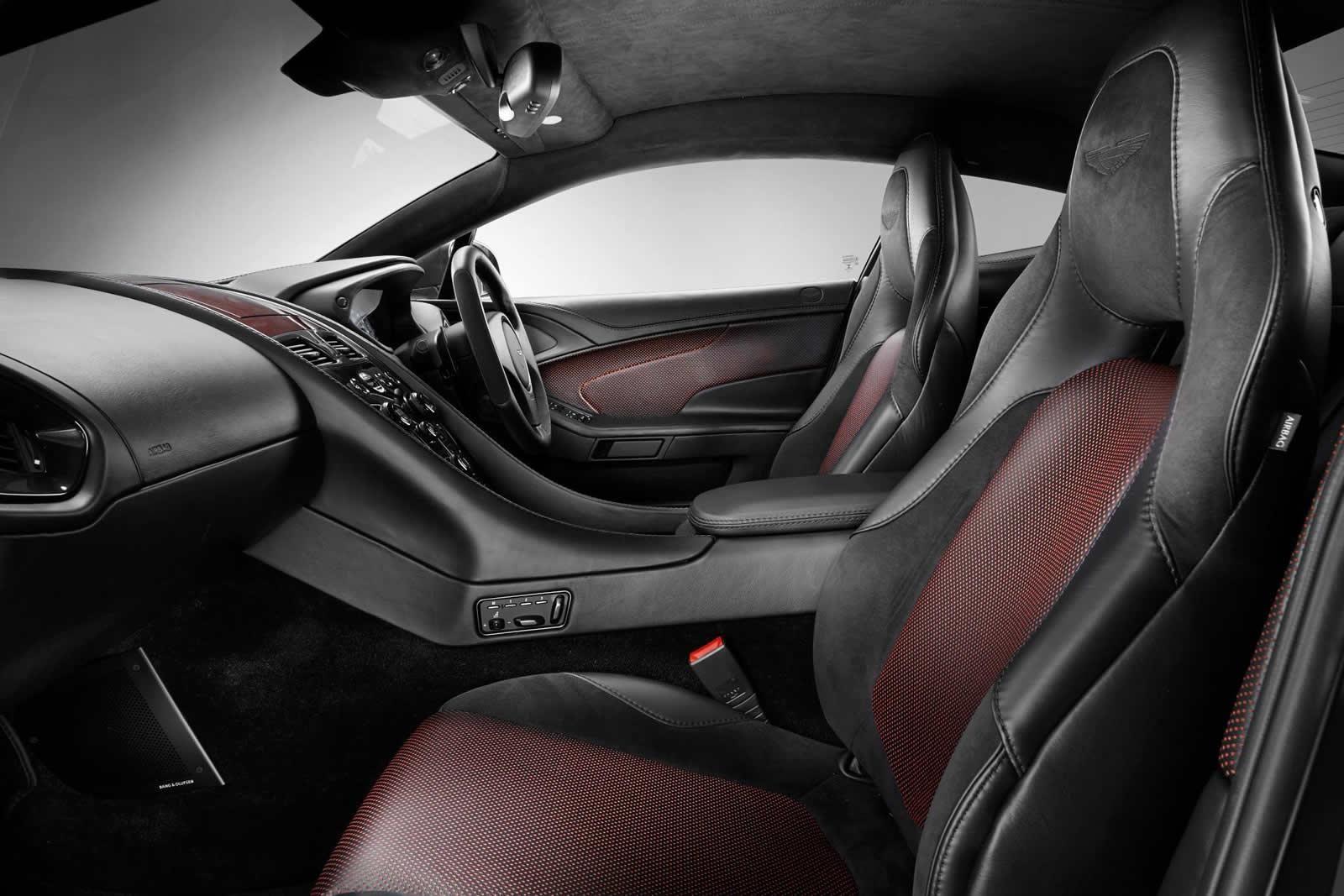 2015 Q by Aston Martin Vanquish Coupe in Satin Jet Black
