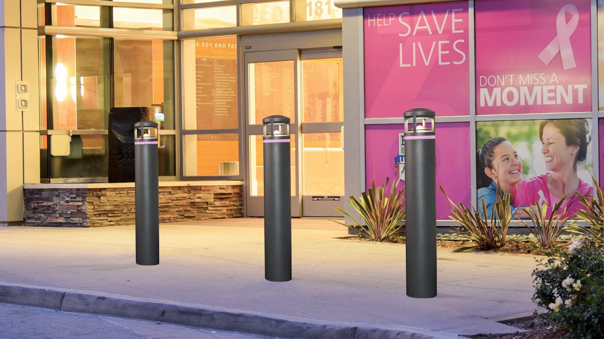 Pavillon Family Bollards Commercial Outdoor Lighting