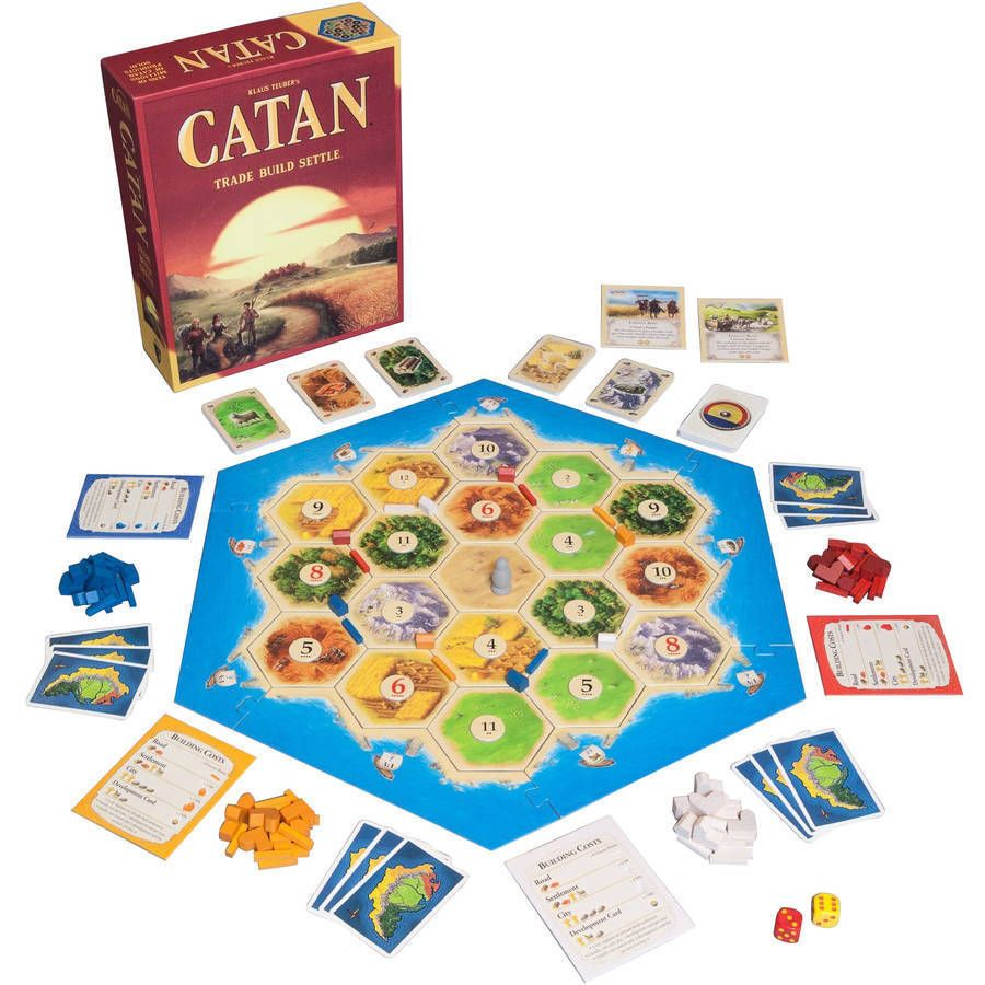 New Settlers of Catan Board Game 5th Edition Free Shipping New
