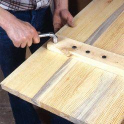 Comment fabriquer des volets battants en bois de sapin ? en 2020   Volet bois, Volet et Volet pliant