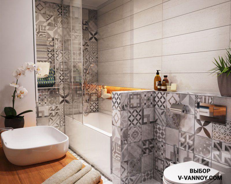 100 идей отделки ванной комнаты керамической плиткой