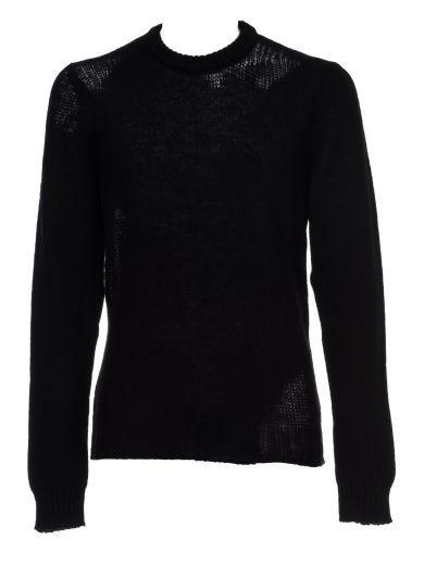 MAISON MARGIELA Martin Margiela Round Neck Sweater. #maisonmargiela #cloth #sweaters