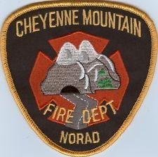 COLORADO - CHEYENNE MOUNTAIN NORAD FIRE DEPARTMENT Patch