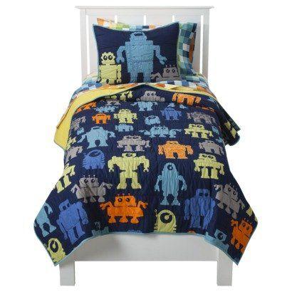 Circo Modern Robot 3 Piece Quilt Set - Full/Queen * Check out the ... : circo quilt - Adamdwight.com