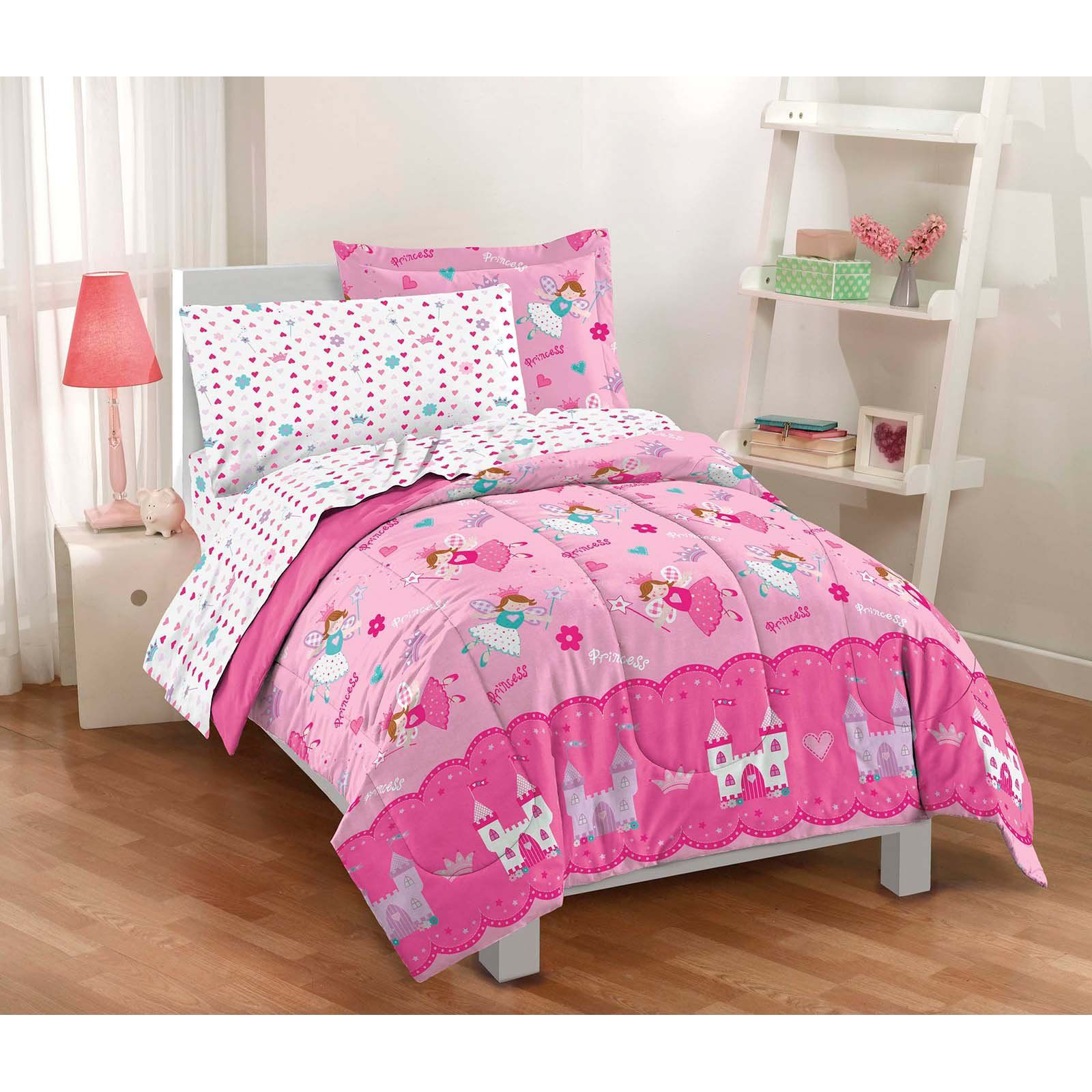 Dream Factory Magical Princess Twin Mini Bed In A Bag Toddler