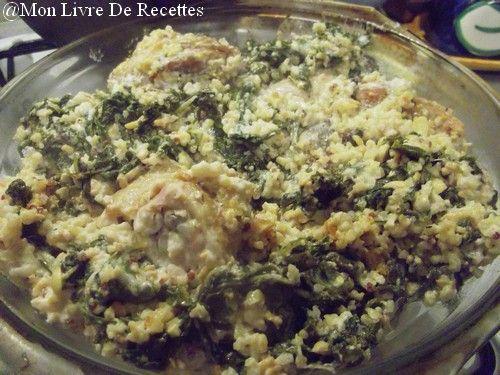 Mon livre de recettes: Mélange gourmand au kale