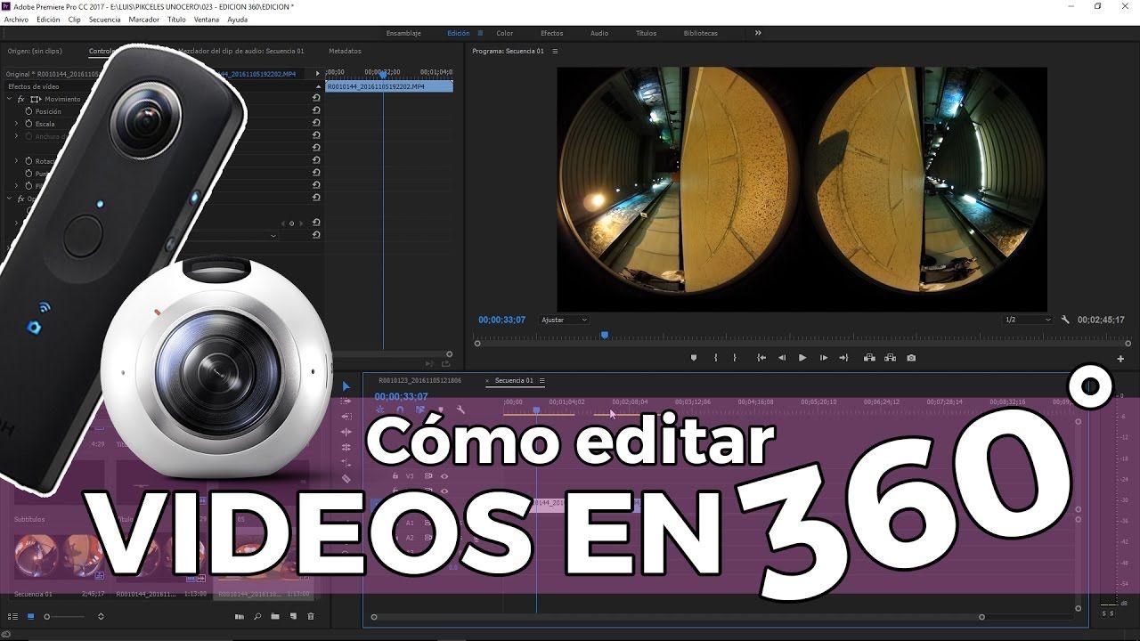 De Acuerdo Con Los Relativamente Nuevos Expertos En Cámaras 360 Grados Hay Tres Métodos Comunes Para Editar Vídeos De 360 Como Editar Videos Videos 360 Grados