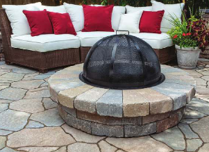 Mega-Arbel Patio Slab from Belgard | Fire Pits | Pinterest | Patio ...