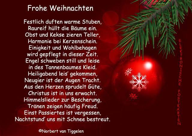 weihnachten sprüche gedichte
