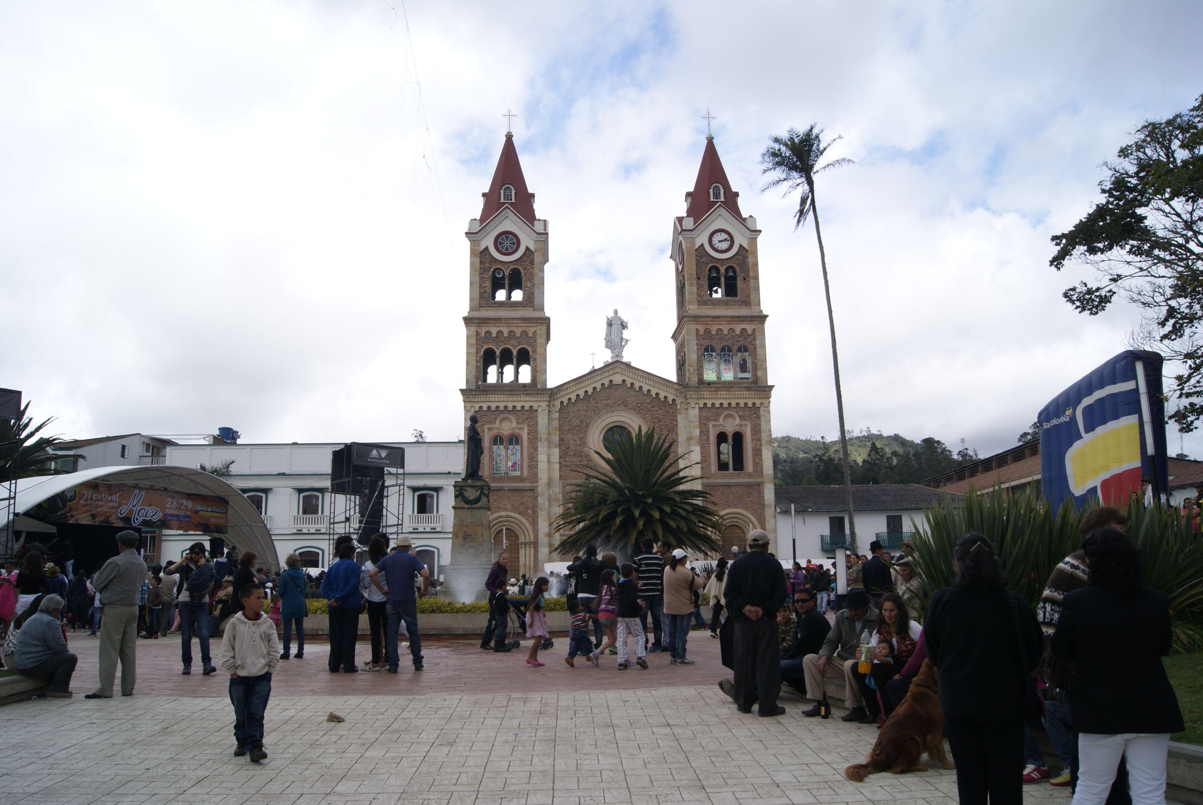 Parque de Ramiriquí- Boyacá