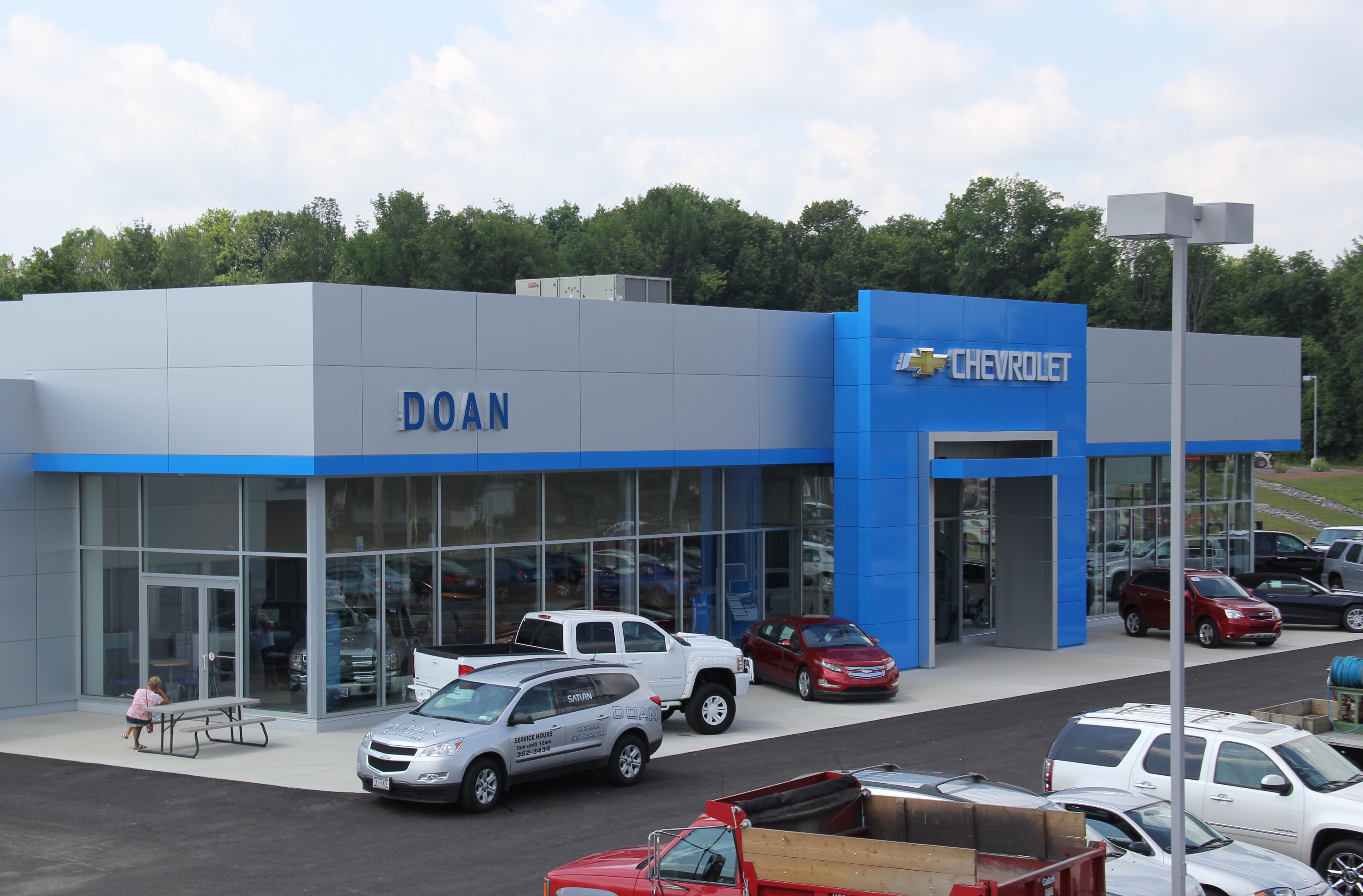 Doan Chevrolet Is Just 5 Minutes West Of Greece Ridge Mall We Offer