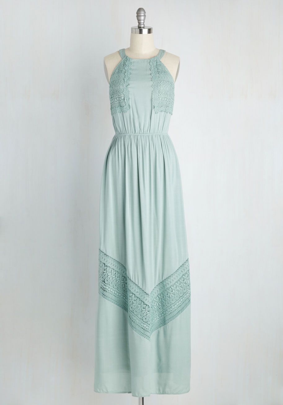 Mint mismatched bridesmaid dresses grayed jade gown pinterest
