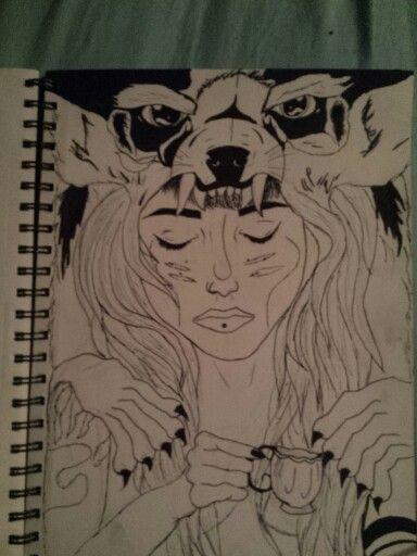 Drawing by Megan Pettigrew