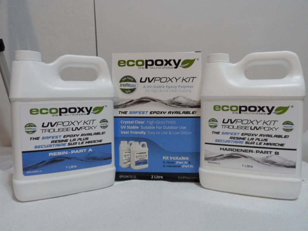 EcoPoxy UVPoxy 2 Lt Kit Epoxy Resin | Epoxy Resin | Epoxy, Resin