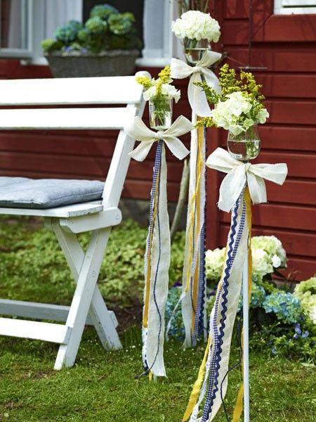 Photo of Midtsommar: borddekorasjon i svensk look