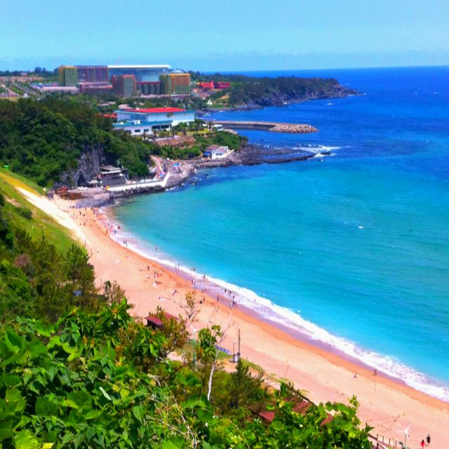 Jungmoon Beach In Jeju Island Korea Jeju Island Beach Outdoor